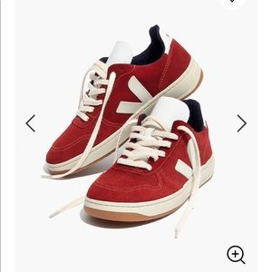 Madewell Veja™ v-10 sneakers in suede